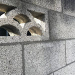 ブロック塀撤去
